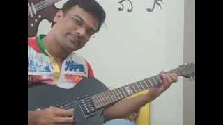 Kabhi Alvida Naa Kehna on Guitar..