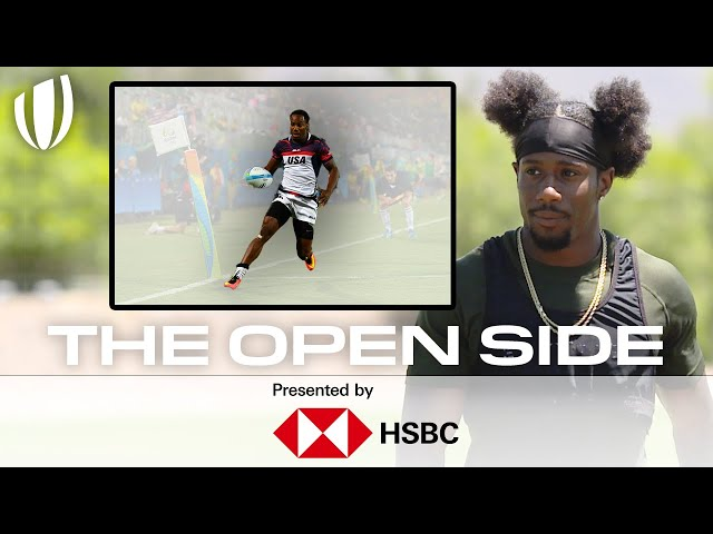 The FASTEST man in Rugby! | The Open Side with Carlin Isles