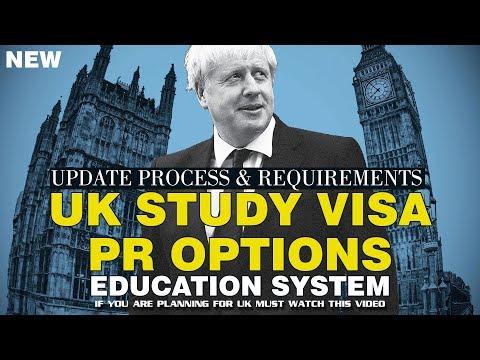 UK Student Visa | PR Options | Education System | Post Study Work Visa & Permit | Study In UK 2019