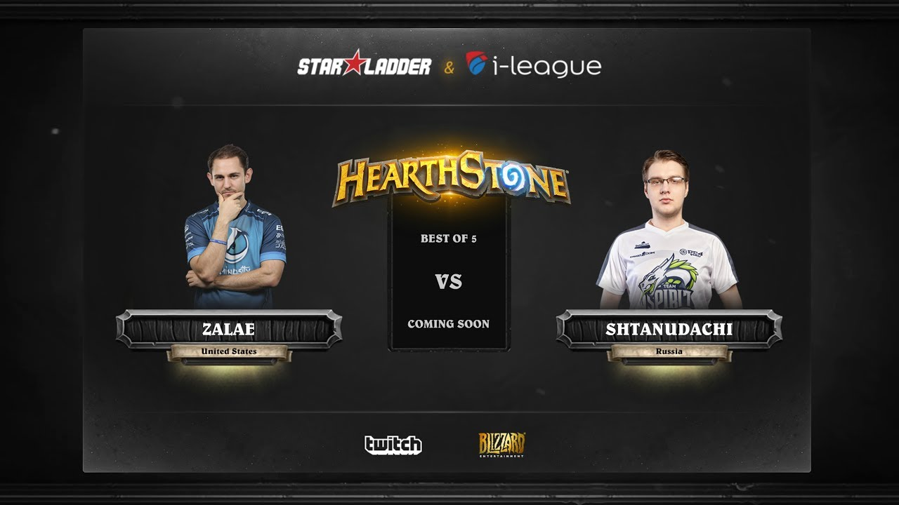 [RU] Zalae vs ShtanUdachi | SL i-League Hearthstone StarSeries Season 3 (23.05.2017)