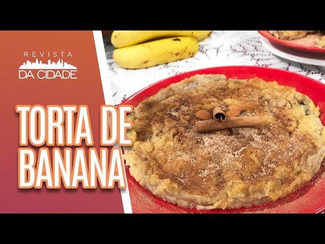 Torta de Banana + Bate-papo Dia da Mulher - Revista da Cidade (08/03/19)