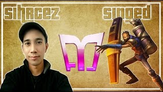 Sirhcez - Singed vs Tryndamere - Top (Challenger)