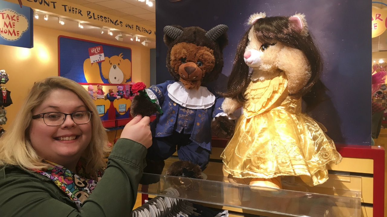 Image Result For Build A Bear Beauty And The Beast