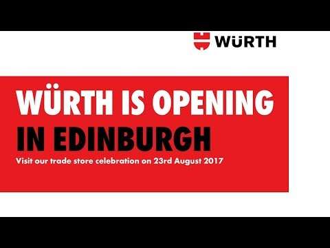 Builder Merchants Shops - Würth Trade Store Edinburgh