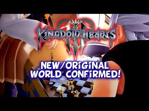 Kingdom Hearts 3 - Eraqus & Xehanort In A New/Original World!