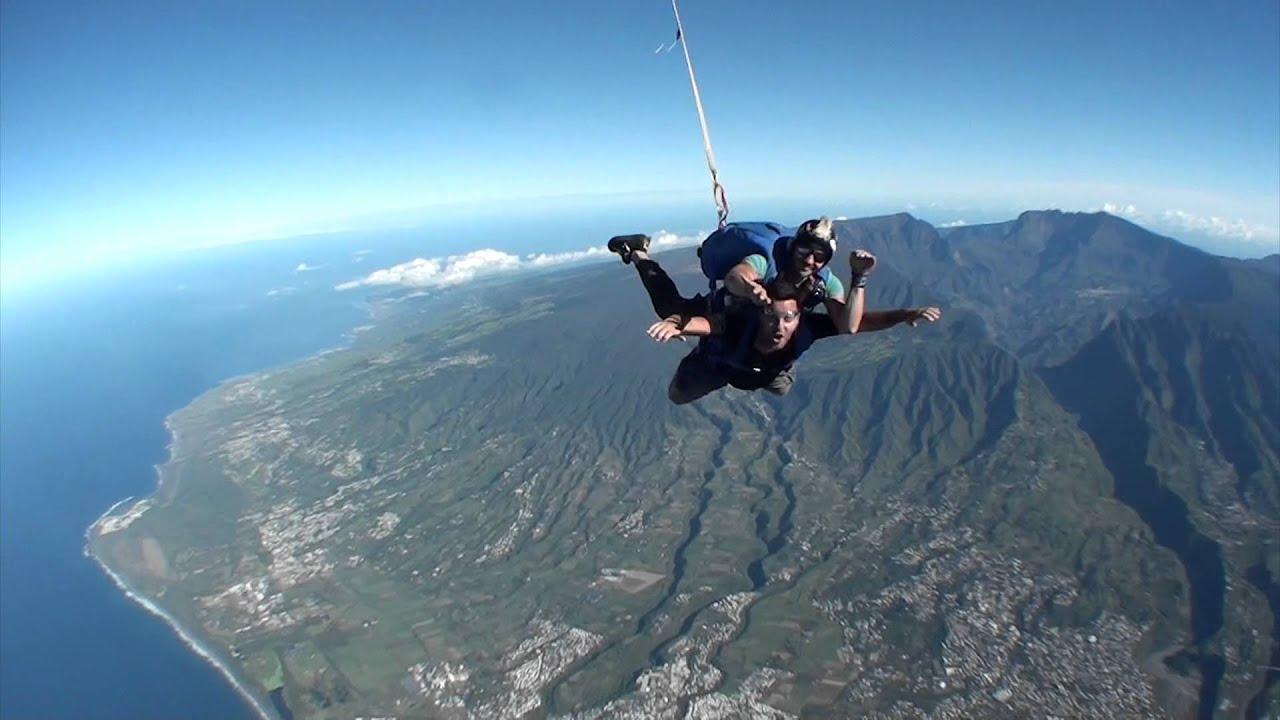 saut en parachute reunion