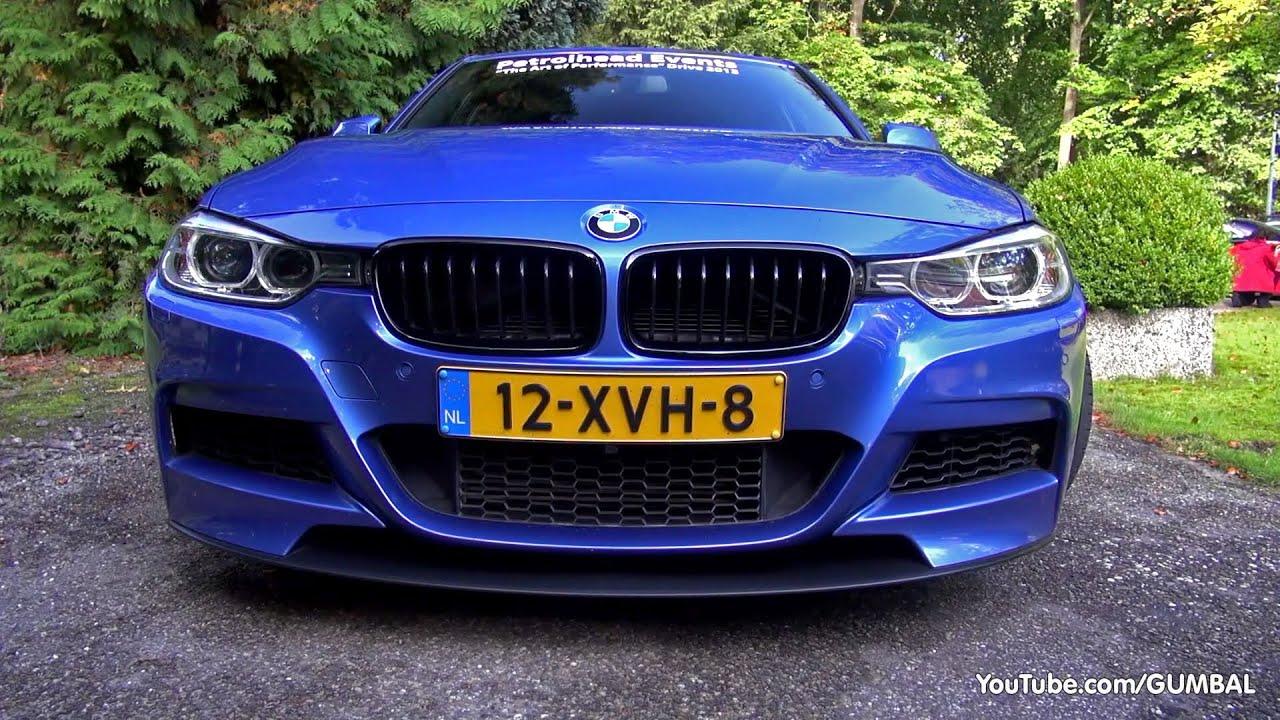 BMW 335i (F30) w/ Akrapovic Evolution Exhaust System ...