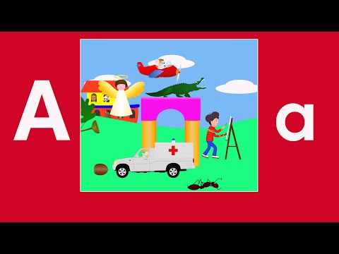 Alphabet Songs  The Letter A