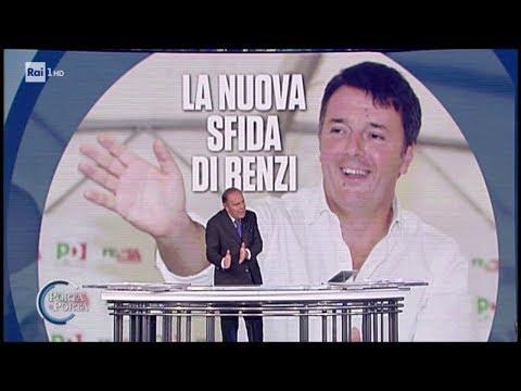 Matteo Renzi a Porta a Porta - 21 settembre 2018