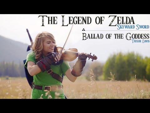 Ballad of the Goddess (Zelda Skyward Sword Theme) - Violin Cover - Taylor Davis
