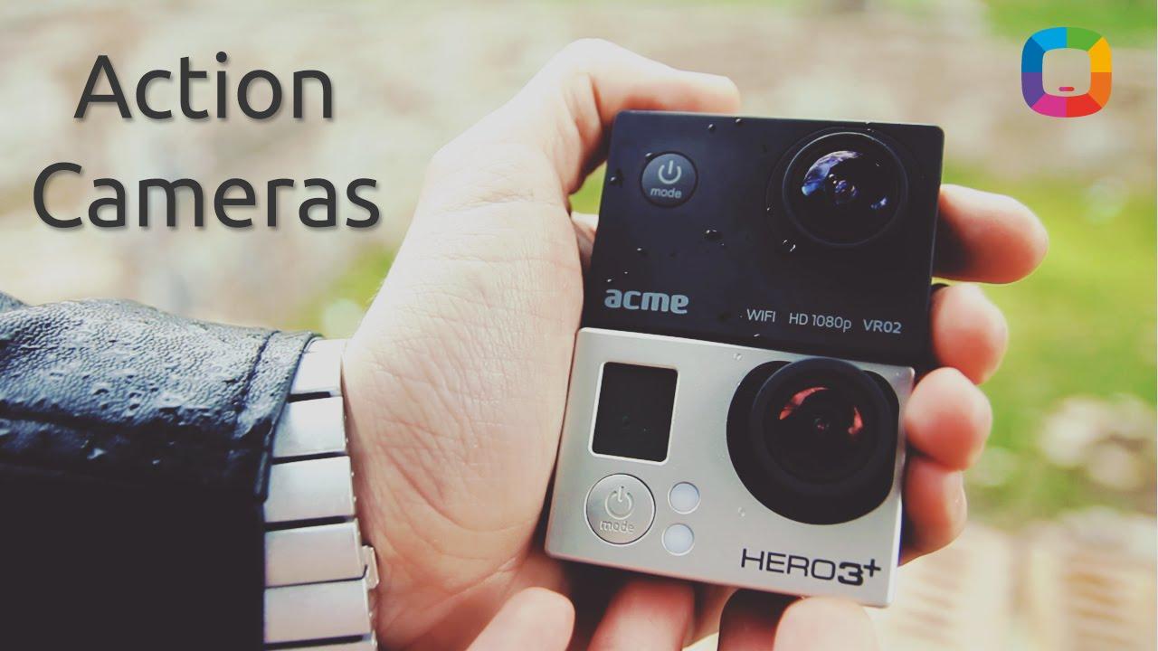 Action Cameras Full HD Review în Română