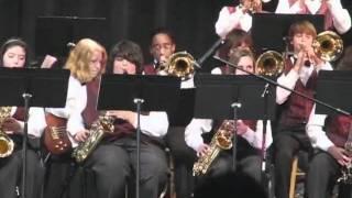 Teague Jazz Band performs