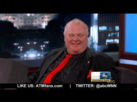 Rob Ford Dies at 46 [Rob Ford on 'Jimmy Kimmel Live!']