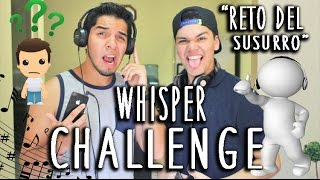 THE WHISPER CHALLENGE (Español) Thumbnail