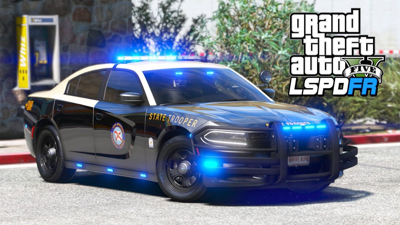 *NEW* 2019 Highway Patrol Charger!! (GTA 5 Mods - LSPDFR Gameplay)