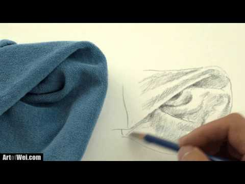 How to Draw Clothes - Shading Cloth and Folds