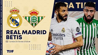 🔴🎥 Match Live/Direct : REAL MADRID - BETIS SEVILLE / Benzema vs Fekir