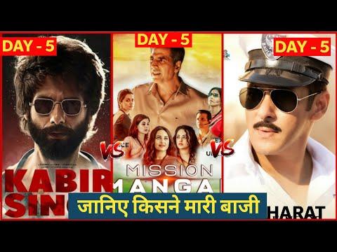 Mission Mangal Vs Bharat vs Kabir Singh, Mission Mangal Box Office Collection, Akshay Kumar, Salman