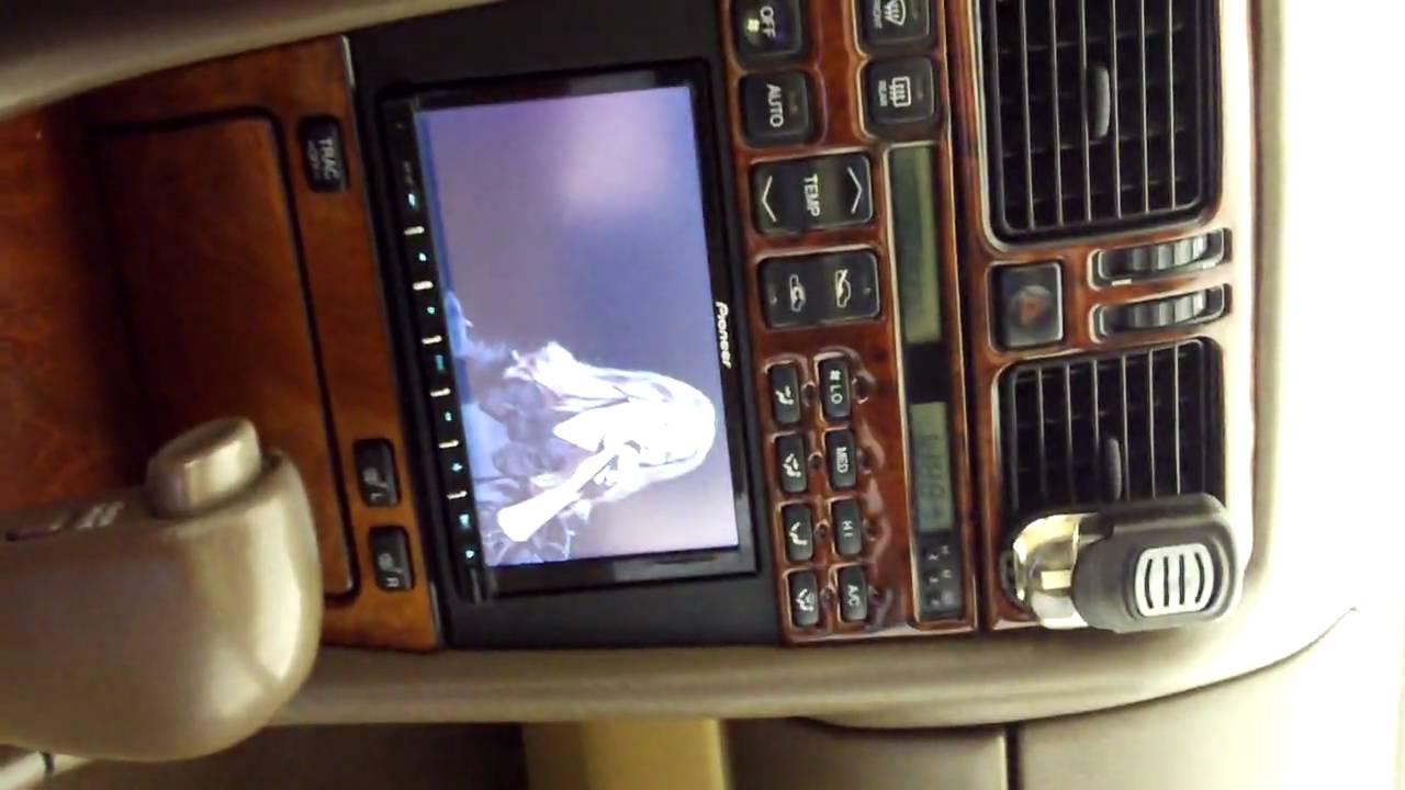 maxresdefault lexus ls 400 double din radio youtube 1995 lexus ls 400 radio wiring harness at nearapp.co