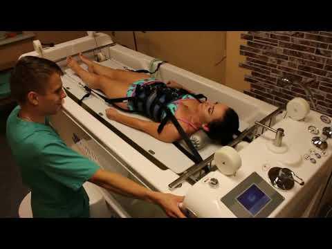 Подводное вытяжение позвоночника. Комплексное лечение заболеваний спины