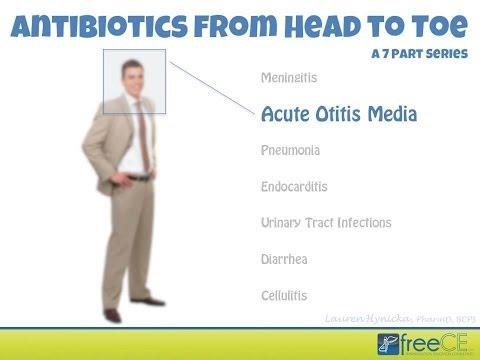 Antibiotics from Head to Toe:  Part 2 - Acute Otitis Media