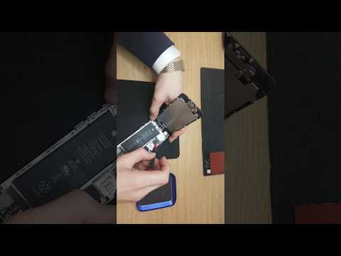 Apple iphone 6g black - How to take out LCD screen. LCD screen replacement