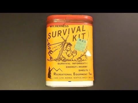 R.E.I. Wilderness Survival Kit from 1972