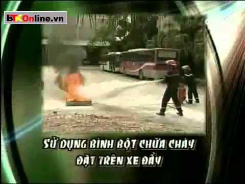 Hướng dẫn sử dụng phương tiện chữa cháy