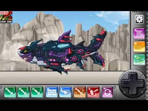 Роботы динозавры: Мегалодон (Megalodon Dino Robot)