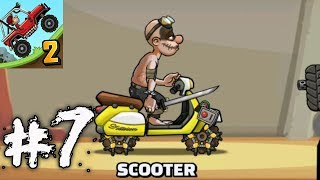Hill Climb Racing 2 - SCOOTER Gameplay Walkthrough Part 7 (iOs, android)