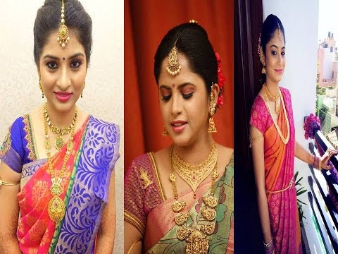 South Indian Bridal Makeup Collections For Engagement Youtube