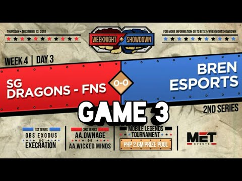 BREN ESPORTS VS SGD-FINESSE GAME 3 | MET WEEKNIGHT SHOWDOWN image