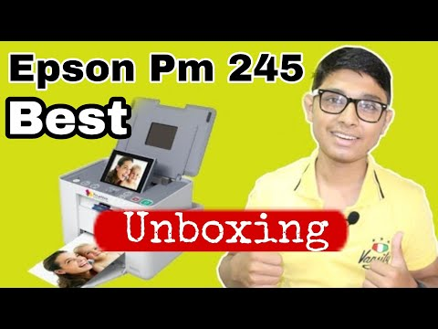 [HINDI]Best photo printer [EPSON PM245] UNBOXING BY SHAHNAWAZ KHAN