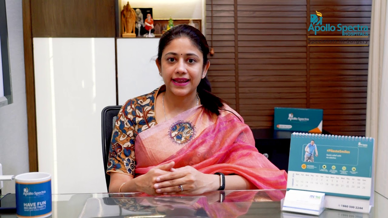 Home remedies for PilesHemorrhoids by Dr Vani Vijay at Apollo Spectra Hospitals