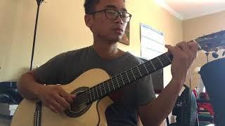 Guitar: Vầng trăng cô đơn