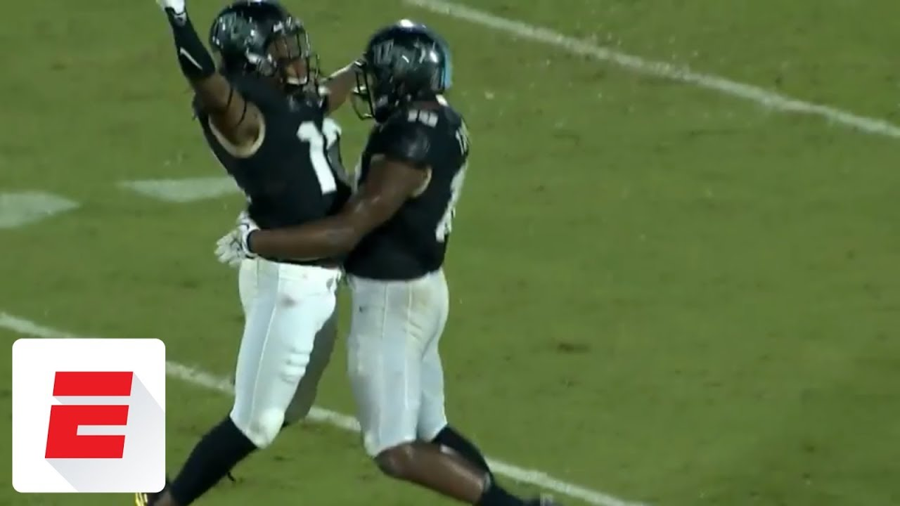One Handed Linebacker Shaquem Griffin Was A Star At Ucf Is Now A