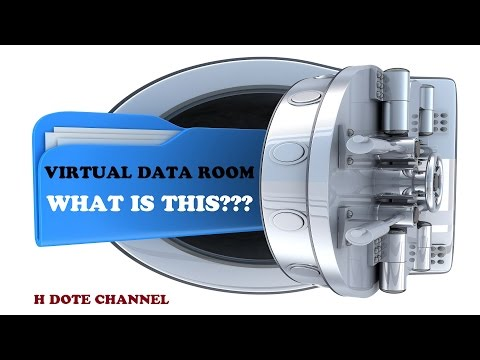 VIRTUAL DATA ROOM - What is this ???