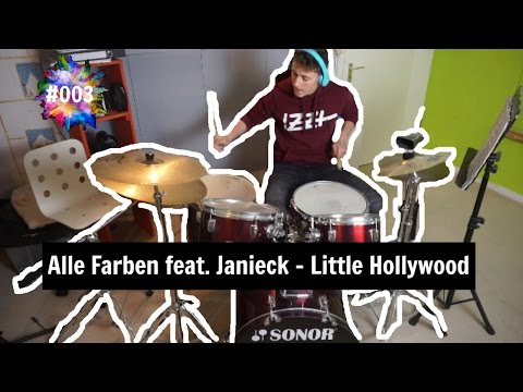 LITTLE HOLLYWOOD | ALLE FARBEN FEAT. JANIECK || BroadcastDrummer