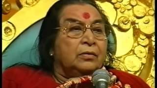 Navratri 1st Puja in Sahaja Yoga Shri Mataji Nirmala Devi Sahasrara 2001 Goddess Love Quantum Energy