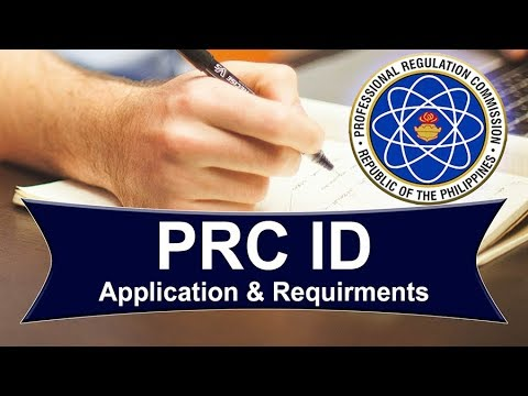 PRC ID : Application & Requirements (2019 Update)