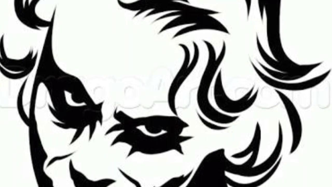 Amazing Joker Face Tattoo Design From The Dark Night Youtube