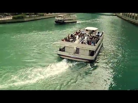 Chicago River Cruise On The Wendella
