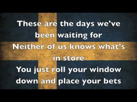 Avicii - The Days [Lyrics On Screen]