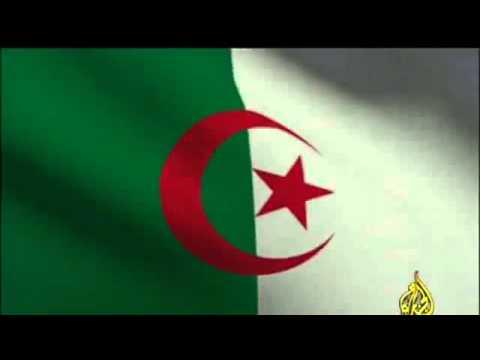 Algerie Drapeau histoire : le drapeau algerien - youtube