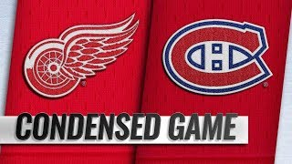 Detroit Red Wings vs Montreal Canadiens – Oct.15, 2018 | Game Highlights | NHL 18/19 | Обзор матча