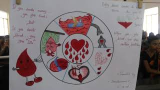 BLOOD DONATION DRAWINGS AND PAINTINGS