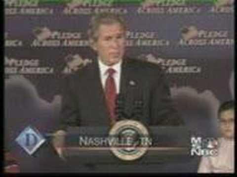 Bush Fool Me Once Youtube
