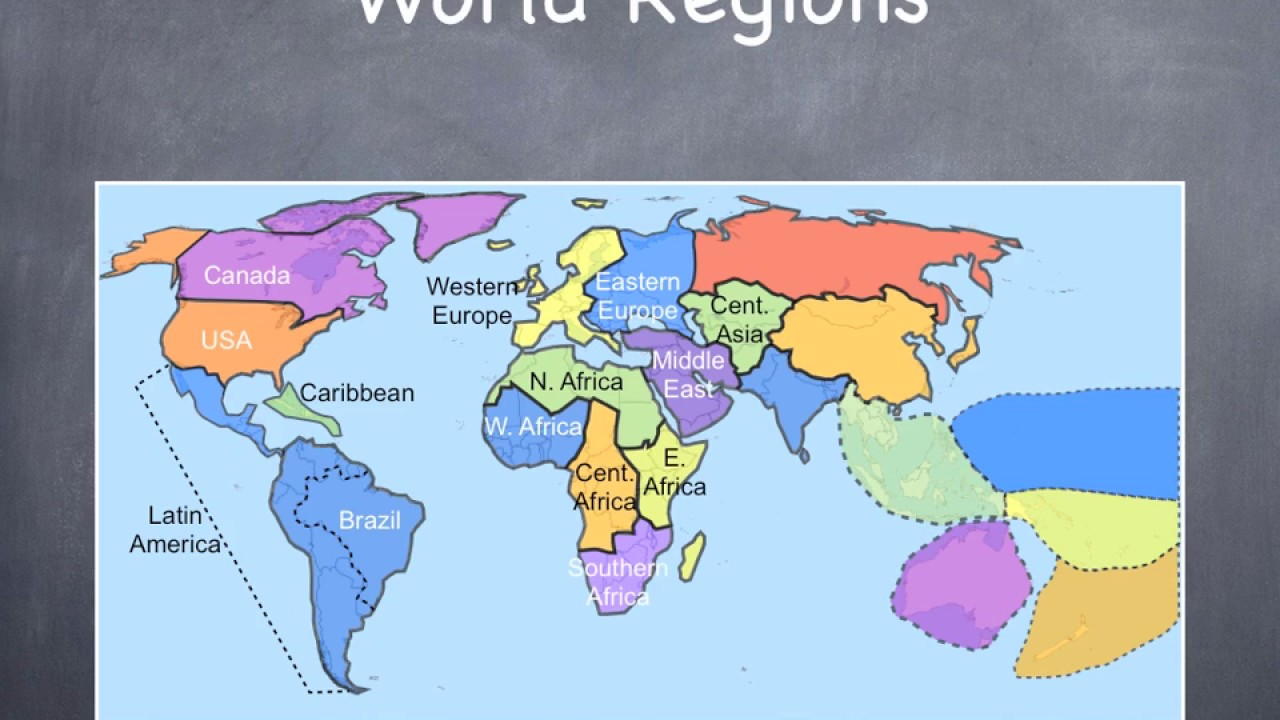 Ap World History The Age Of Exploration Where Is Our Next: Regions Of The World