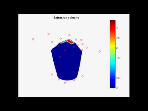 Extrusion Die Simulation and Shape Optimization - QuickerSim CFD Toolbox