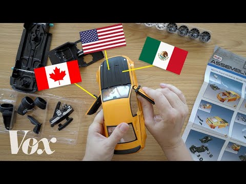 USMCA Vs NAFTA, Explained With A Toy Car